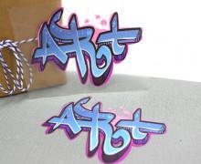 1 Bügelbild - Art - Street Art - Aufbügler