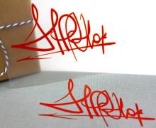 1 Bügelbild - HipHop III - Stree Art - Aufbügler