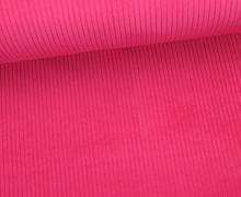 Cord mit breiter Struktur - Breitcord - Pink