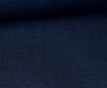 Canvas Stoff- feste Baumwolle - Uni - 145cm - Dunkelblau
