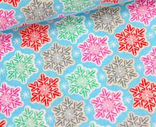 Stoff - Sugar Rush - Snowflakes - J. Kimberling