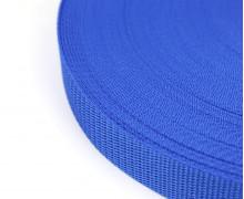 1 Meter Gurtband - Blau (340) - 25mm