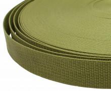 1 Meter Gurtband - Olive (263) - 30mm