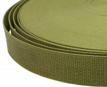1 Meter Gurtband - Olive (263) - 40mm