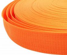 1 Meter Gurtband - Orange (157) - 40mm