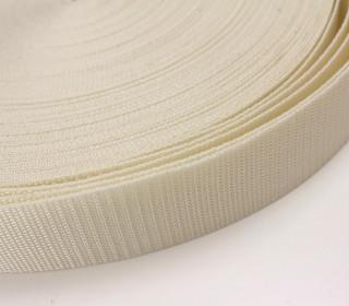 1 Meter Gurtband - Creme (103) - 40mm