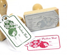 Stempel - Weihnachtsstempel - Frohes Fest