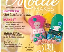 Mollie Makes Ausgabe 43 mit DIY Häkel Brosche