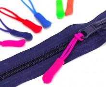 1 Zipper Schlaufe - Reißverschluss Anhänger - Pink