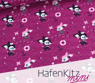 HafenKitz MINI - Beere - Sweat - NIKIKO