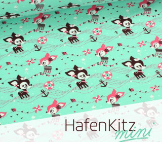 HafenKitz MINI - Mint - Sweat - NIKIKO