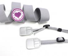 Kameraband Set - DIY - Kameragurt - Silber
