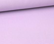 Canvas Stoff - feste Baumwolle  - Uni - 145cm - Hellviolett