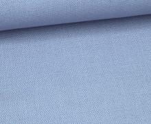 Canvas Stoff - feste Baumwolle - Uni - 145cm - Hellblau