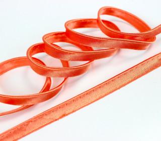 3 Meter Seiden-Paspelband/Biesenband - Orange