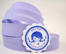 3 Meter Schrägband - 20mm breit - Lavendel