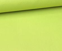Canvas Stoff - feste Baumwolle - Uni - 145cm - Gelbgrün Hell