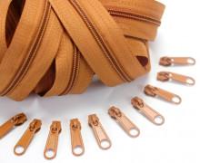 2m Endlosreißverschluss *S+10 Zipper Braun (280)
