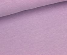 Jersey - Melange - Uni - Lavendel Meliert