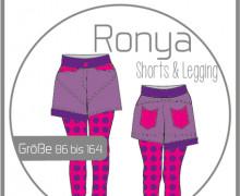 Schnittmuster Ronya - Shorts/Legging - Ki-Ba-Doo