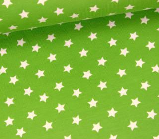 Jersey - Little Darling - Kleine Sterne - Maigrün