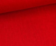 Viskose Leinen - Rot - Uni - Leinenstoff