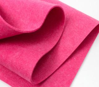 3mm Filz - Polyesterfilz - Klassik Filz - Pink