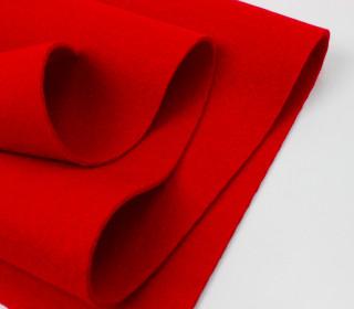 3mm Filz - Polyesterfilz - Klassik Filz - Rot