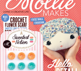 Mollie Makes Ausgabe 52 mit Vintage Knöpfen