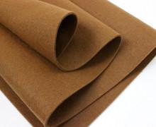 3mm Filz - Polyesterfilz - Klassik Filz Teddybraun