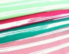 Jersey - Painted Stripes - Grün - Nancy Kers