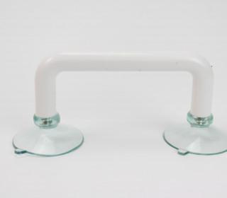 Lineal Griff - doppelter Halt - Bastelhilfe - Weiß