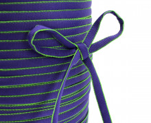 3m Fashion Kordel - Wattiert - Hoodieband - Lila