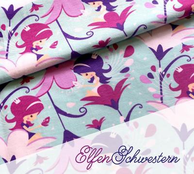 Jersey ElfenSchwestern - Elfe - Mädchen - Blume