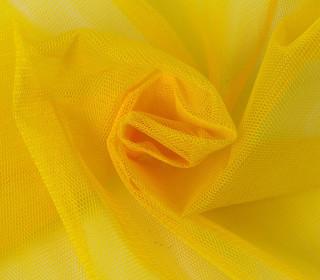 Tüllstoff - 160 cm breit - Gelb