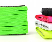7mm Wäscheband - elastisch - 5 Meter - Neon Grün
