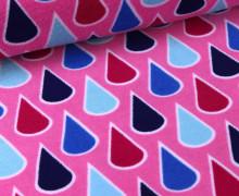 Frottee - Summer Sprinkles - Pink- Hamburger Liebe