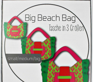Schnittmuster - Big Beach Bag - S/M/L - Ki-Ba-Doo