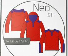 Schnittmuster - Neo Shirt - Gr. 74-176 - Ki-Ba-Doo