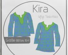 Schnittmuster - Kira Bluse - Gr. 80-164 -Ki-Ba-Doo