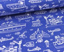Jersey - MS Gräte - Blau/Weiß - Käpt´n Gräte