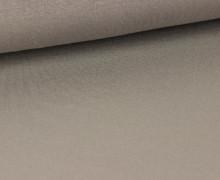 Viskose Jersey - Uni - Grau - leicht geraut