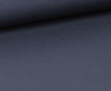 Viskose Jersey - Uni - Stahlblau leicht geraut