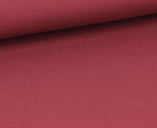 Viskose Jersey - Uni - Bordeaux - leicht geraut