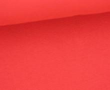 Viskose Jersey - Uni - Rot - leicht geraut