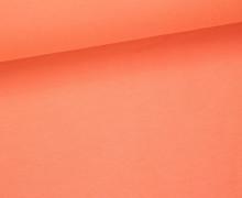 Viskose Jersey - Uni - Apricot - leicht geraut