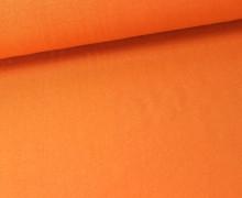 Viskose Jersey - Uni - Orange - leicht geraut