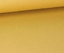Viskose Jersey - Uni - Gold - leicht geraut