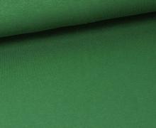 Viskose Jersey - Uni - Dunkelgrün - leicht geraut
