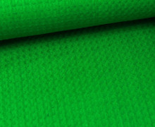 Waffel Piqué - Baumwolle - Grün